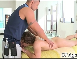 Homosexual receives lusty toying
