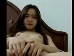 [ Hotchina.cf ] - Asian teen girl show body beyond mirror