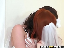 Brazzers - Its A Nice Day For A Blanched Lez Wedding Dolly Little&nbsp_and&nbsp_Kymberlee Anne