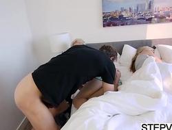 Hollie Mack gets banged by stepdad