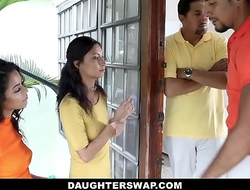 DaughterSwap - Creepy Dads Film Daughters Porn Audition
