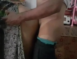 Desi couple real fucking in kitchen room with loud whinging bitching 720p