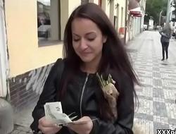 Cutie Bungler Fucks In Public For a Few Bucks 04