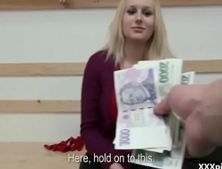 Czech Sexy Teen Amateur Get Fucked FOr Cash In Public 05