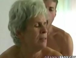 Young Crony Fucks Hairy Granny