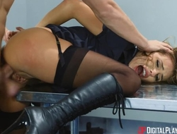 Gorgeous Airport affix babe gets brutally fucked