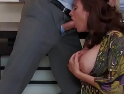 mother sucking and mouth fucking with young crony